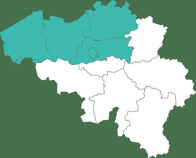 Regio's waar Bnb assist actief is